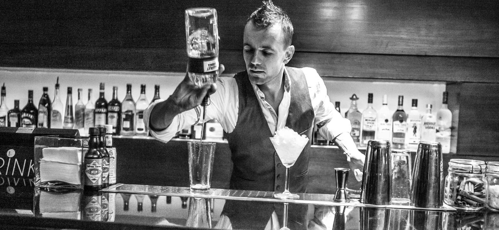 Portable Bar Staff Hire Bar Consultants